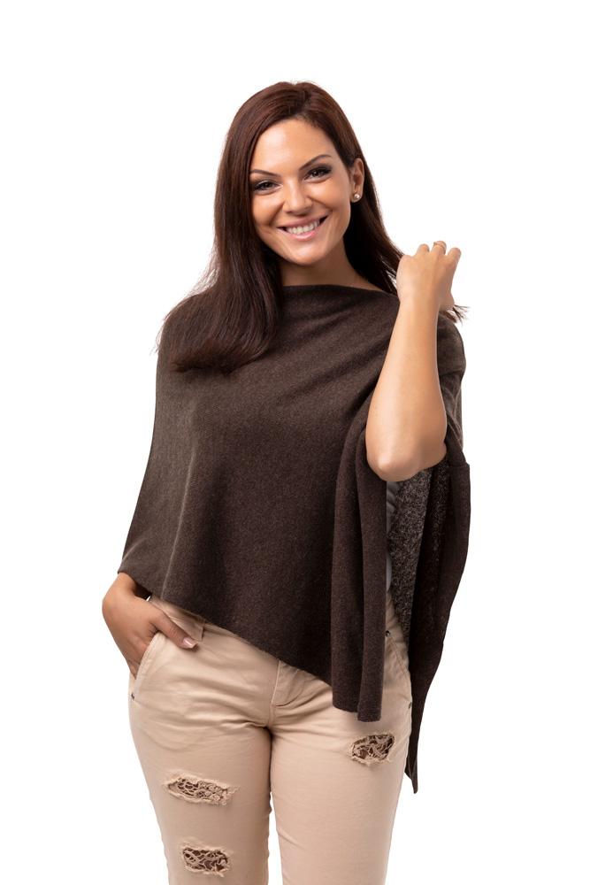 Liten Poncho - vår absoluta storsäljare brun