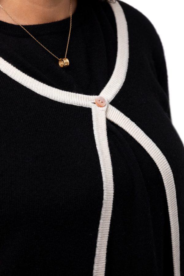 Jacka - klassisk och elegant modell med fina detaljer svart
